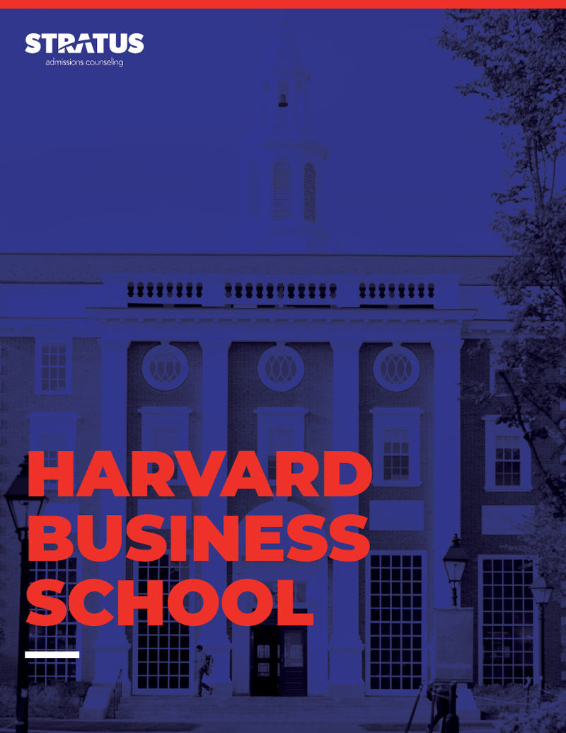 Stratus Admissions' Guide to Getting into Harvard Business School