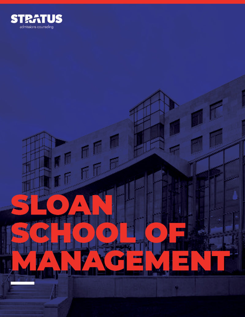 Stratus Admissions' Guide to Getting into MIT Sloan School of Management