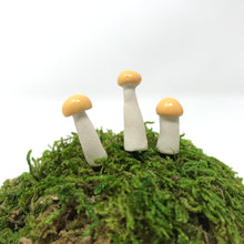 Load image into Gallery viewer, Miniature Mushroom: Butter Yellow