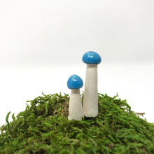 Load image into Gallery viewer, Miniature Mushroom: Bright Aqua