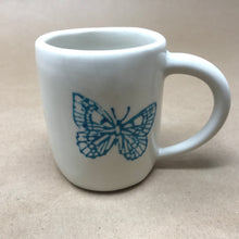 Load image into Gallery viewer, Bob Cat and Butterfly Mug