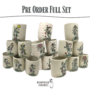 Rabbit Tumbler Set of 6 *PRE ORDER*