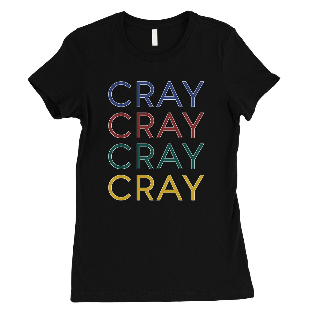 365 Printing Cray Womens Hilarious Strong Happy Single ...
