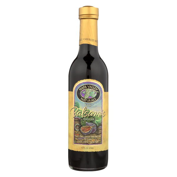 Napa Valley Naturals Fig Balsamic Vinegar - Case Of 12 - 12.7 Fl Oz.