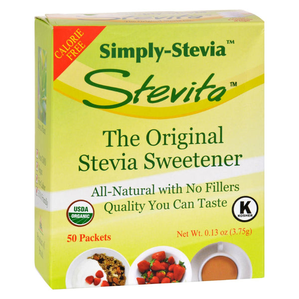 Stevita Simply Stevia - No Fillers - .13 Oz.
