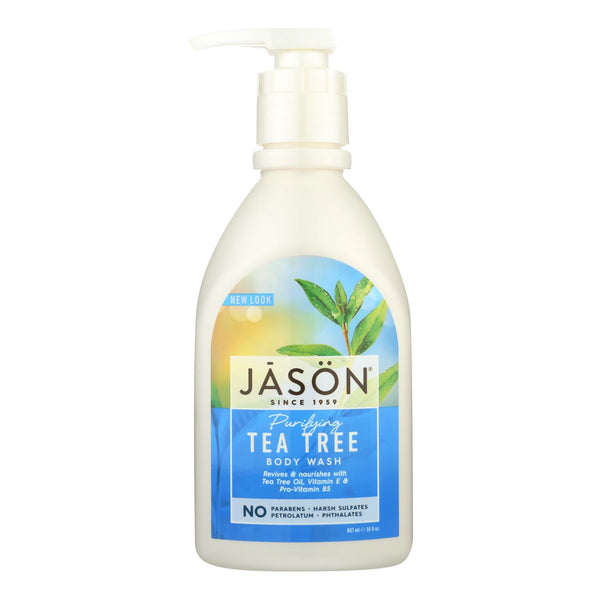 Jason Body Wash Pure Natural Purifying Tea Tree - 30 Fl Oz.