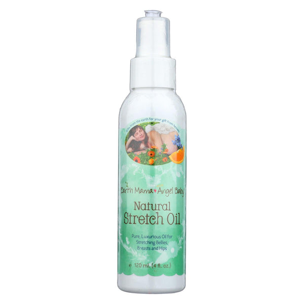 Earth Mama Angel Baby Natural Stretch Oil - 4 Fl Oz.