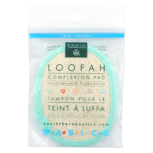 Earth Therapeutics Loofah Complexion Pad - 1 Pad.