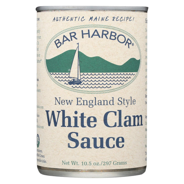 Bar Harbor - New England Style White Clam Sauce - Case Of 6 - 10.5 Oz..