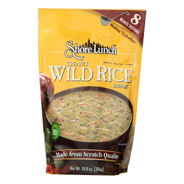 Shore Lunch Soup Mix - Wild Rice - Case Of 6 - 10.8 Oz.