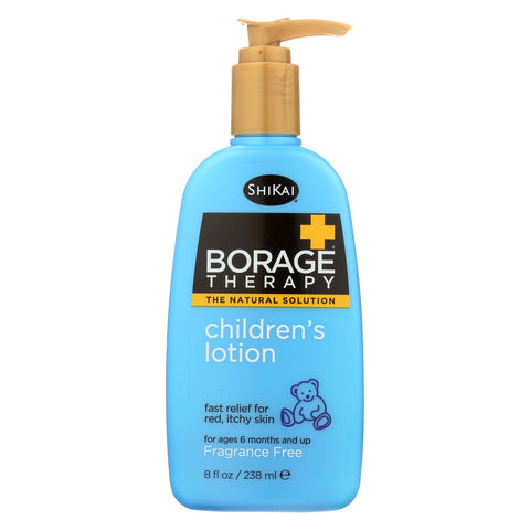 Shikai Borage Therapy Children's Lotion Fragrance-free - 8 Fl Oz.