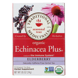 Traditional Medicinals Organic Echinacea Elder Tea -caffeine Free - Case Of 6 - 16 Bags.