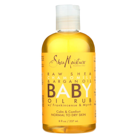 Sheamoisture Oil Rub - Baby - Raw Shea Butter - 8 Oz.