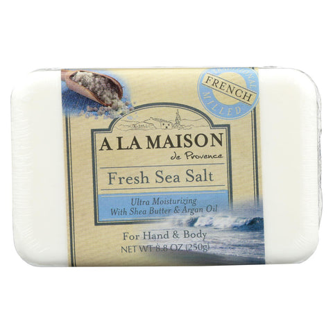 A La Maison - Bar Soap - Fresh Sea Salt - 8.8 Oz - Typical corporation