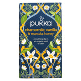 Pukka Herbal Teas Tea - Organic - Chamomile Vanilla And Manuka Honey - 20 Bags - Case Of 6.