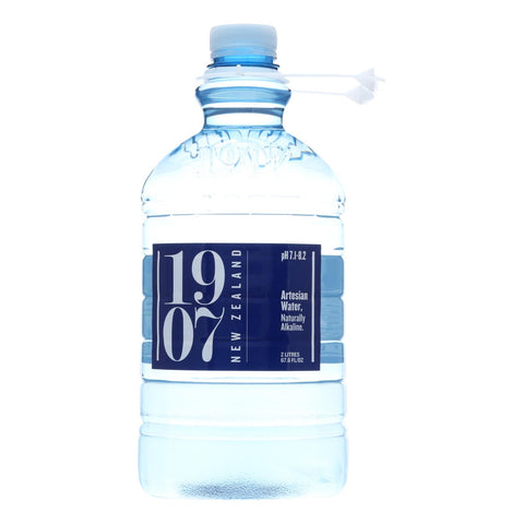 1907 - New Zealand Artesian Water - Case Of 8 - 67.6 Fl Oz. - Typical corporation