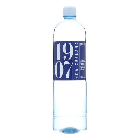 1907 - New Zealand Artesian Water - Case Of 12 - 33.8 Fl Oz. - Typical corporation