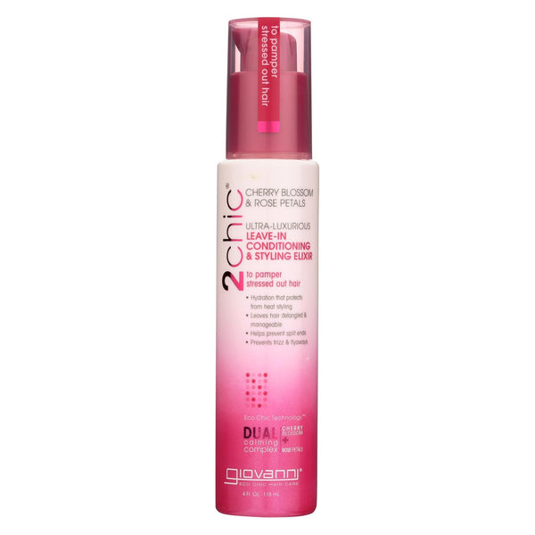 Giovanni Hair Care Products 2chic - Conditioner - Leave-in - Cherry - 4 Fl Oz.