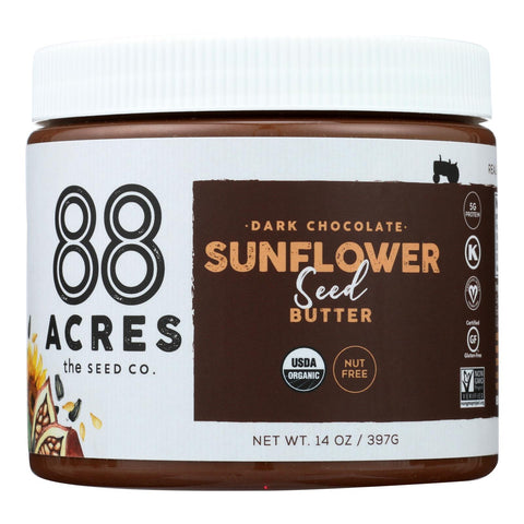 88 Acres - Seed Butter - Chocolate Sunflower - Case Of 6 - 14 Oz. - Typical corporation