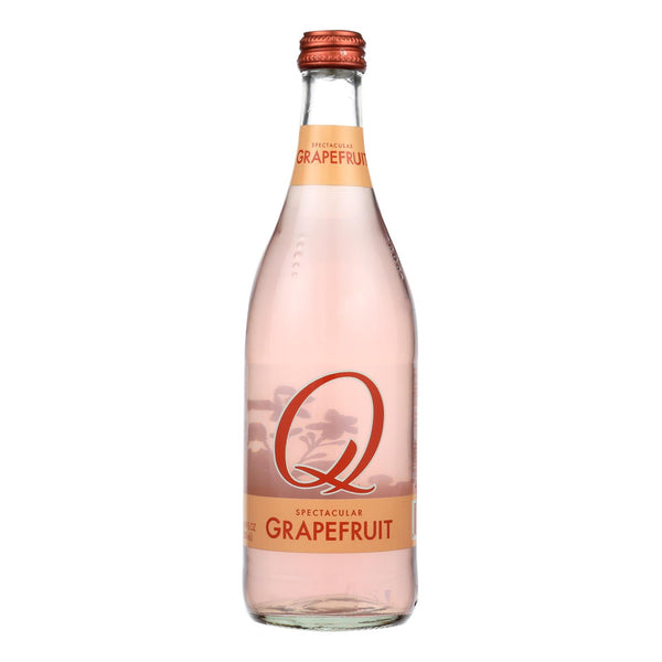 Q Drinks Sparkling Grapefruit - Case Of 6 - 16.9 Fl Oz.