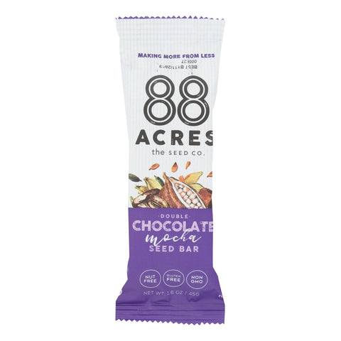 88 Acres - Seed Bars - Double Chocolate Mocha - Case Of 9 - 1.6 Oz. - Typical corporation