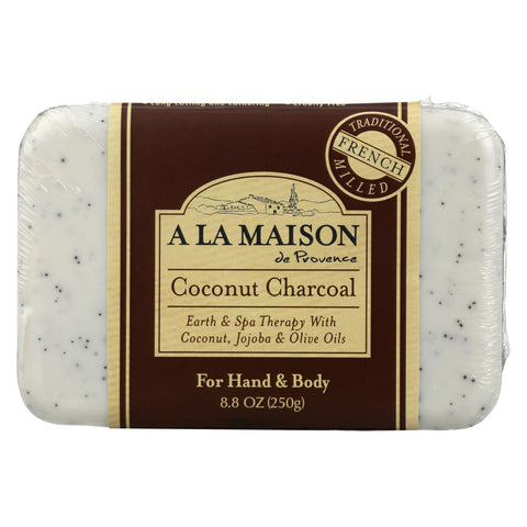A La Maison - Bar Soap - Coconut Charcoal - 8.8 Oz - Typical corporation
