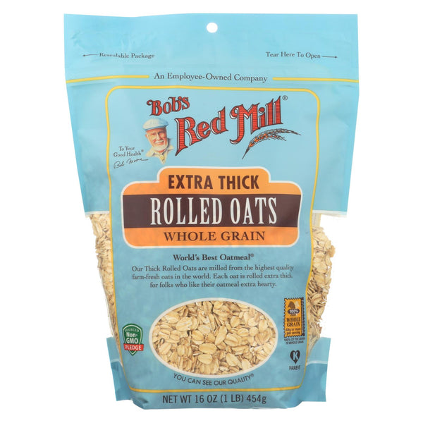 Bob's Red Mill - Rolled Oats - Extra Thick - Case Of 4-16 Oz..
