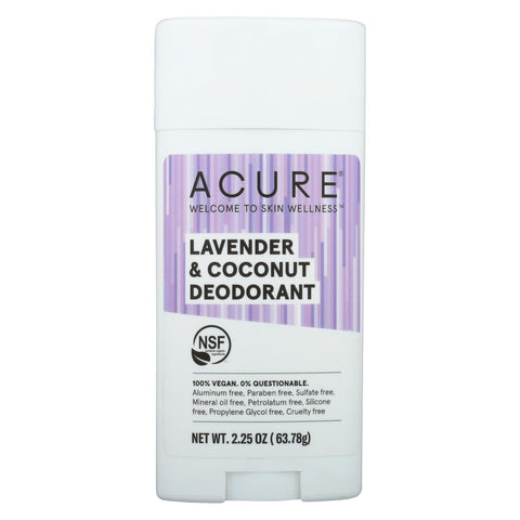 Acure - Deodorant - Lavender And Coconut - 2.25 Oz - Typical corporation