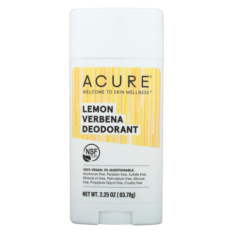 Acure - Deodorant - Lemon Verbena - 2.25 Oz - Typical corporation