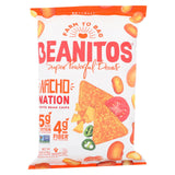Beanitos - White Bean Chips - Nacho Nation - Case Of 6 - 4.5 Oz..