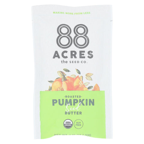 88 Acres - Seed Butter - Organic Pumpkin - Case Of 10 - 1.16 Oz. - Typical corporation