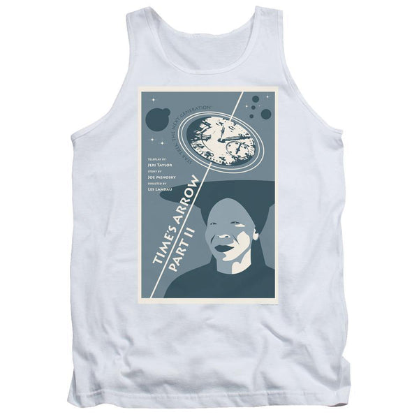 Star Trek/tng Season 6 Episode 1-adult Tank-white.
