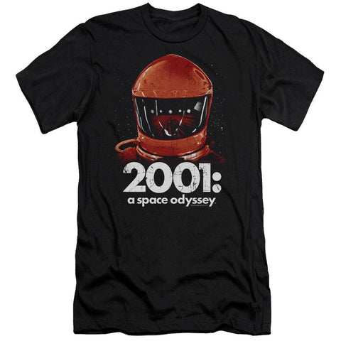 2001 A Space Odyssey/space Travel-s/s Adult 30/1-black - Typical corporation