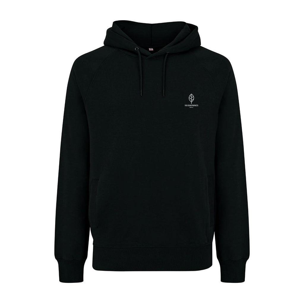 Signature Black Vegan Hoodie -Unisex - The Vegan Prophets