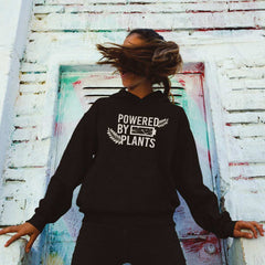 Vegan Message Hoodie | Powered By Plants (Unisex) - The Vegan Prophets
