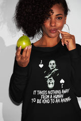 Buy online High Quality Vegan Quote Sweatshirt | Phoenix (Unisex) - The Vegan Prophets