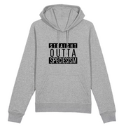 Vegan Message Hoodie | Straight Outta Speciesism (Unisex) - The Vegan Prophets