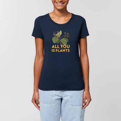 Vegan Message T Shirt -All You Need Is Plants - The Vegan Prophets