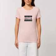 Vegan Message T-Shirt | Straight Outta Speciesism - The Vegan Prophets