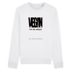 Vegan Message Sweatshirt - Vegan FTA (Unisex) - The Vegan Prophets