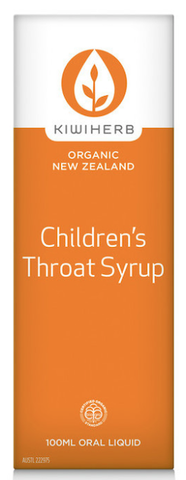 Kiwi Herb Children's Throat Syrup 100ml