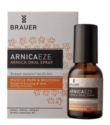 Brauer Arnicaeze Arnica Muscle Pain & Bruising Oral Spray 20ml