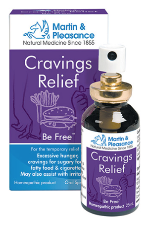 Martin & Pleasance Homoeopathic Complex Cravings Relief Spray 25ml