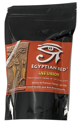 Egyptian Red Tea Of The Pharaohs 40 Teabags