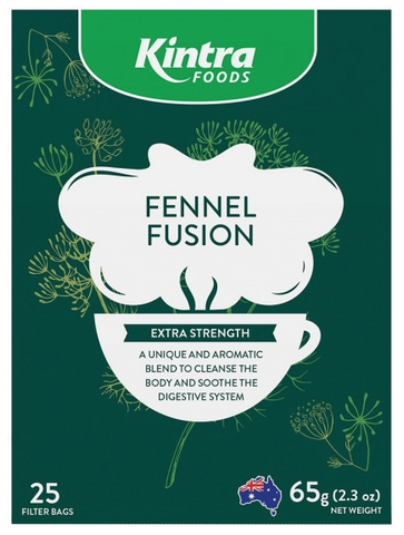 Kintra Herbal Fennel Fusion Tea bags 25