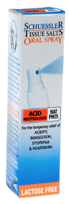 Martin & Pleasance Schuessler Tissue Salts Nat Phos Acid Neutraliser Spray 30ml