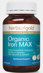 Herbs of Gold Organic Iron Max 30VC