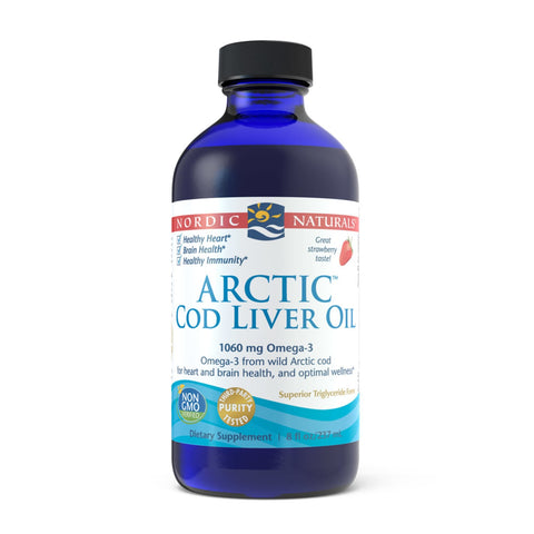 Arctic Cod Liver Oil Strawberry 237ml