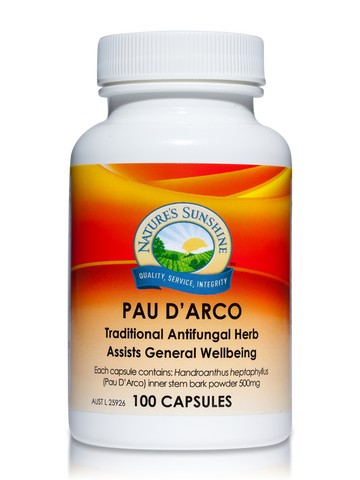 Nature's Sunshine Pau D'arco 500mg 100C