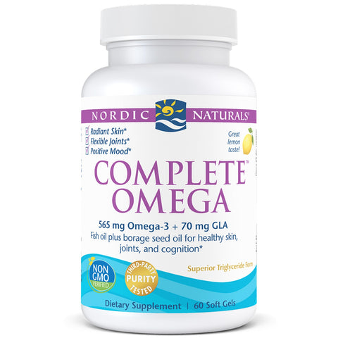 Nordic Naturals Complete Omega  3.6.9 60s
